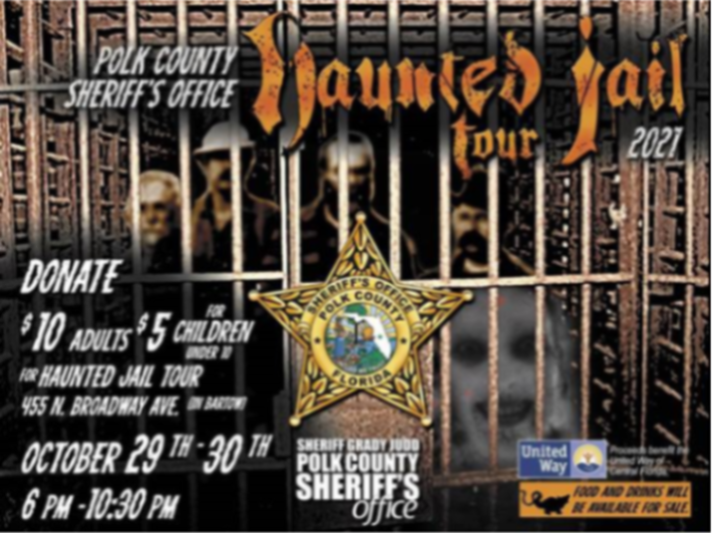 Polk County Sheriff Haunted Jail Tour